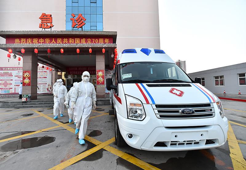 雄县医院:坚决打赢疫情
